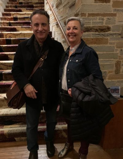 Los Angeles December 2019: meeting Film Star, Andy Garcia
