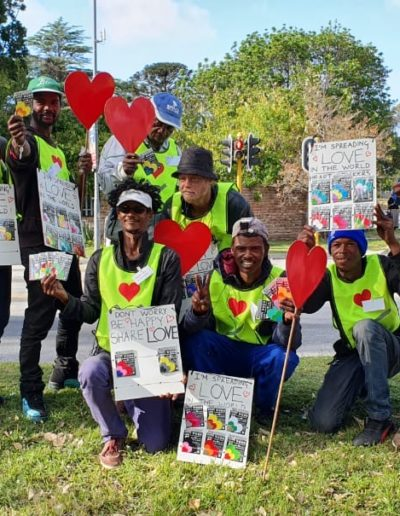 Secret Love project, with Project Nelson Mandela Bay