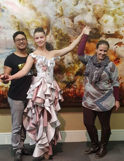 Ballerina, Designers, Art and Fashion..for the annual Museum Gala by Mantis