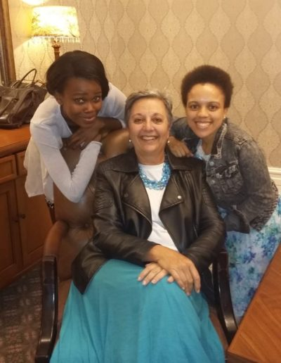 With Mentees, Anelisa Nomatye and Funeka Soga. Mentoring is a large part of my Paying it Forward!