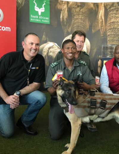 A Vodacom-SA National Parks collaboration!