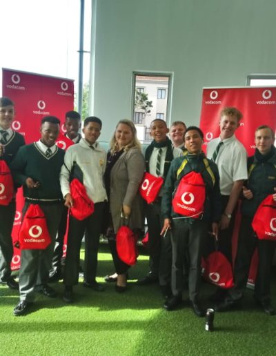 Hosting Vodacom onsite visits, for Grade 11/12 Learners
